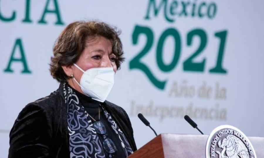 SSa tiene la última palabra para el regreso a clases presenciales: Delfina Gómez