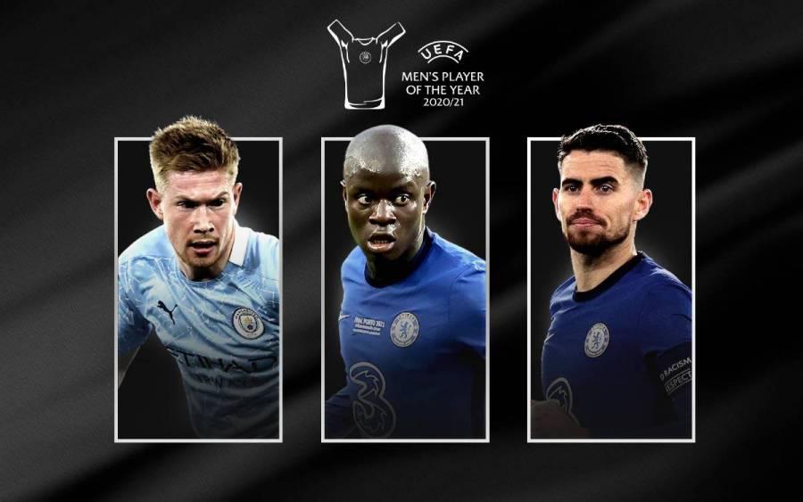 N'Golo Kanté, Jorginho y Kevin De Bruyne nominados al Jugador europeo del año
