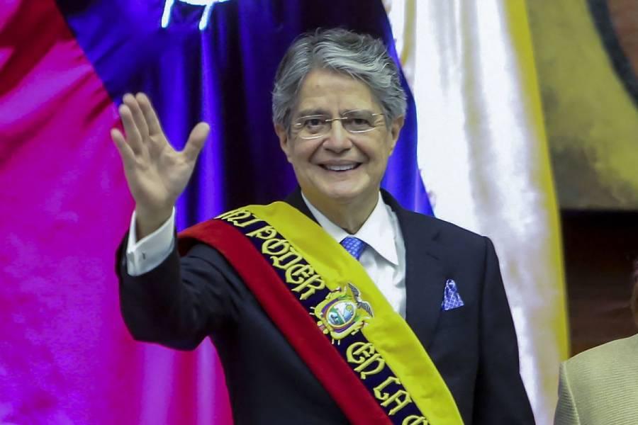 Guillermo Lasso, presidente de Ecuador, visitará México la próxima semana