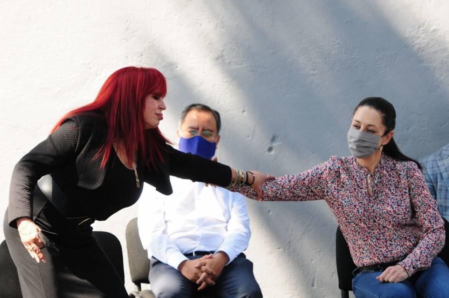 Claudia Sheinbaum se solidariza con Layda Sansores, por recuento de votos en Campeche
