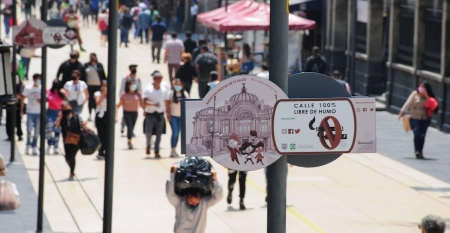 Son excesivos los carteles en Madero sobre no fumar: Claudia Sheinbaum
