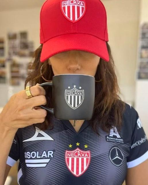 Eva Longoria presume triunfo del Necaxa, equipo mexicano del cual es socia