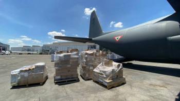 México manda 20 toneladas de ayuda humanitaria a Haití