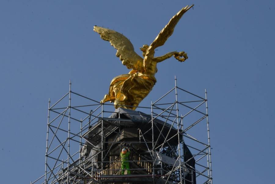 Alistan entrega del Ángel de la Independencia para antes del 15 de septiembre
