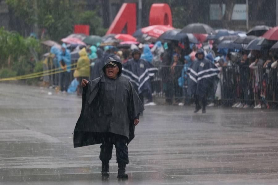 Activan Alerta Amarilla por lluvias en 10 alcaldías de la CDMX
