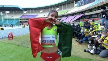 Sofía Ramos ganó oro en 10 km marcha en Mundial sub-20 de atletismo
