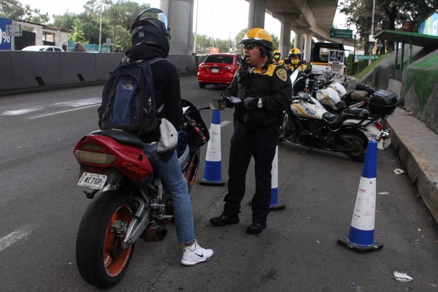 Por seguridad, evalúan a conductores de motocicletas