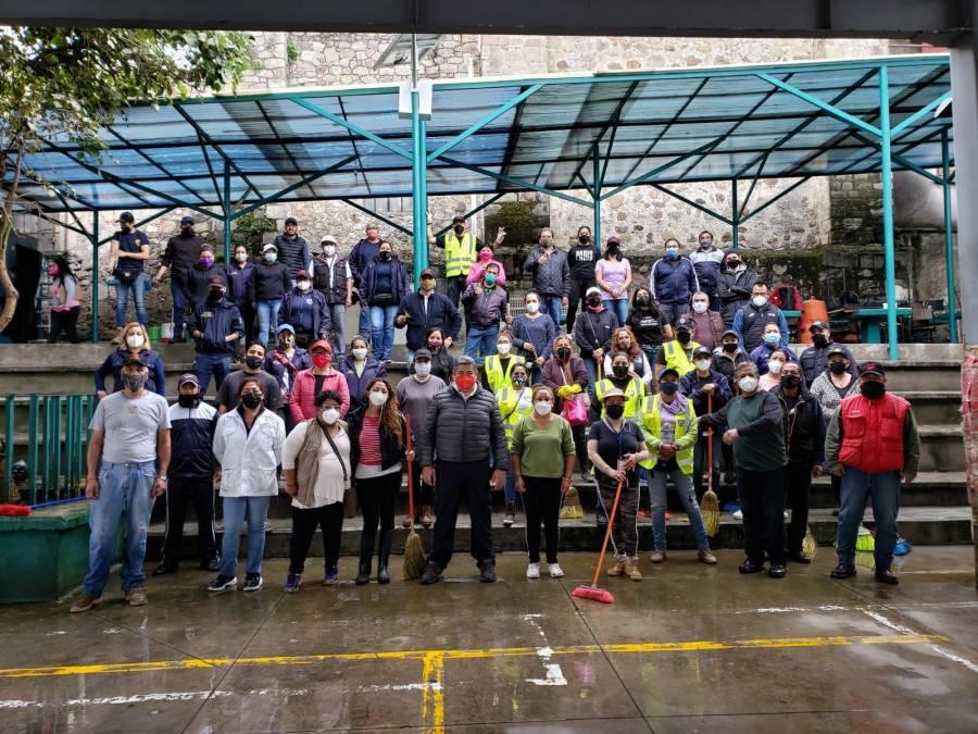 Cuajimalpa inició con las Jornadas de Limpieza y Mantenimiento de las escuelas