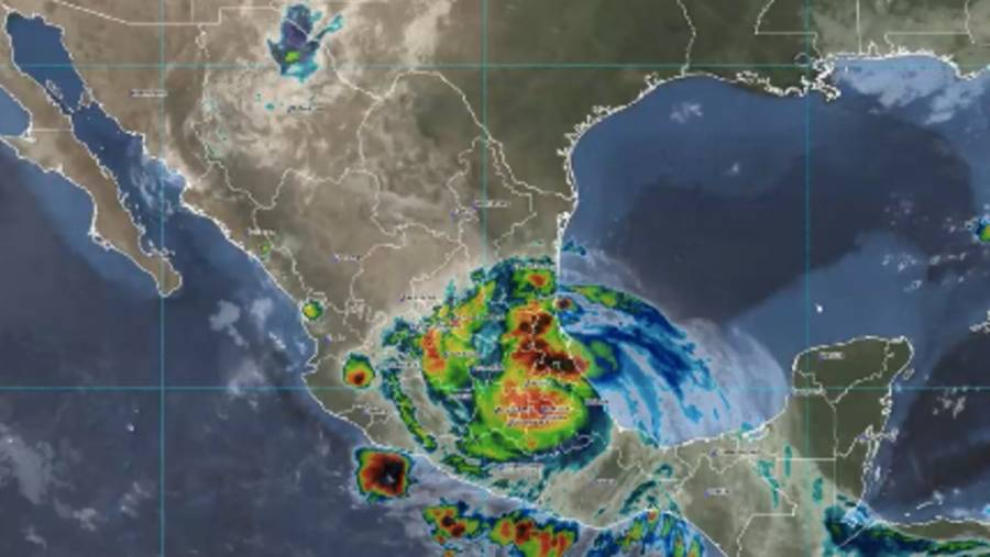 """""""Grace"""" podría provocar ciclón frente a costas de Jalisco"""