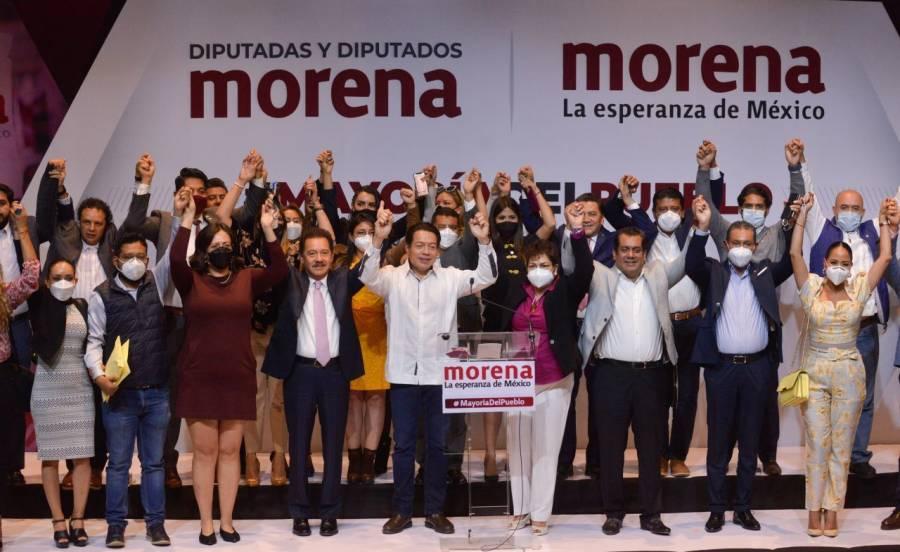 Nueve secretarios de Estado participarán en Plenaria de Morena