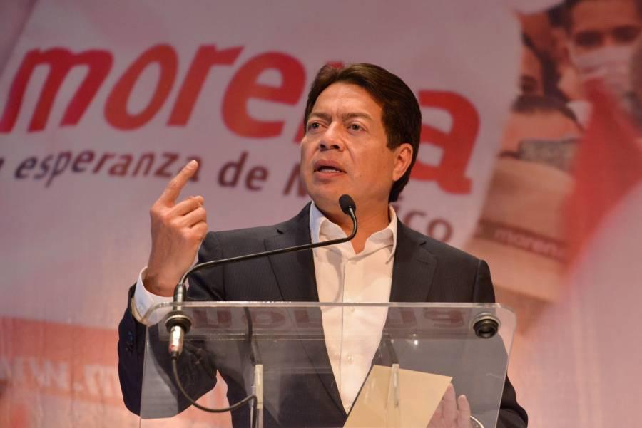 Mario Delgado pide a oposición acabar con red de complicidades con García Luna, Felipe Calderón y Cabeza de Vaca