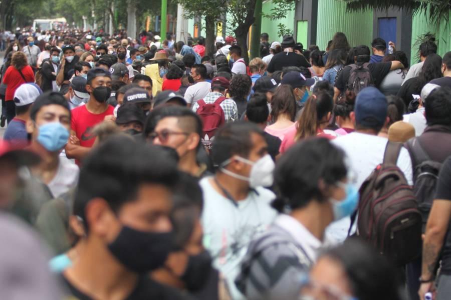 En 24 horas, México sumó más de 7 mil 500 nuevos contagios Covid y 228 fallecimientos