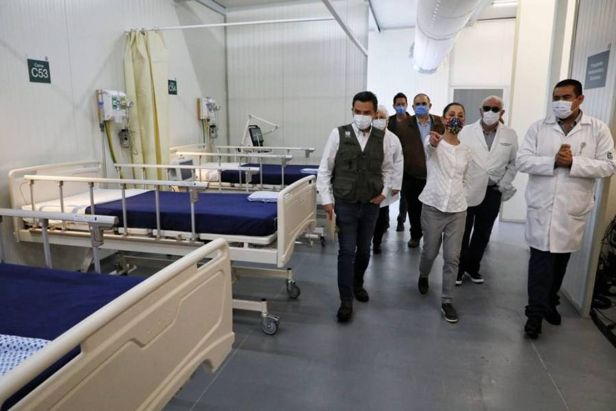 Supervisan IMSS y GobCDMX nuevo CAT Morelos para pacientes con COVID-19