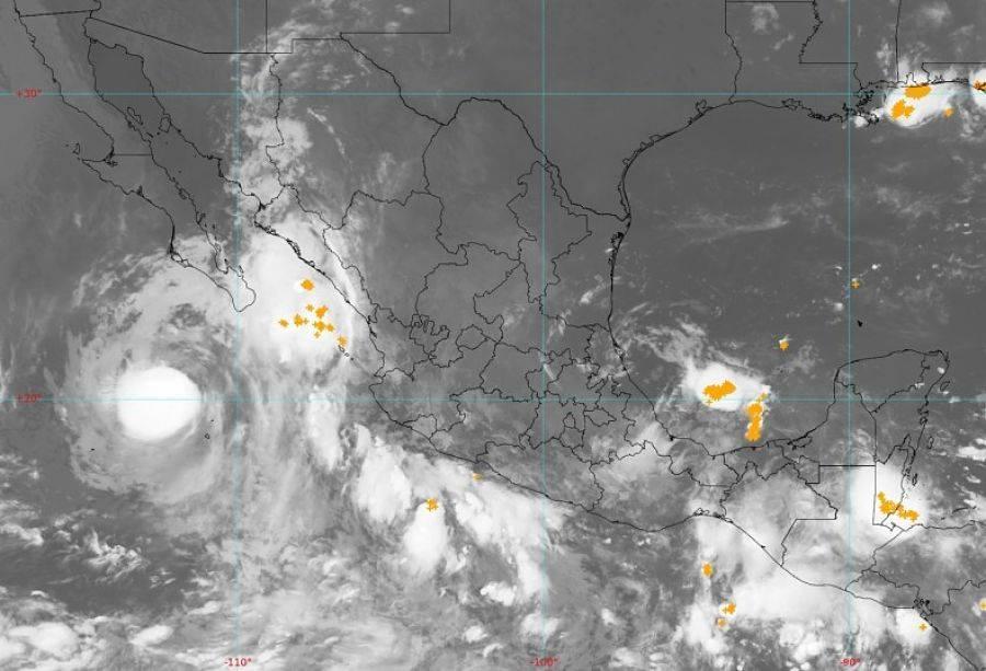 "Remanentes de huracán ""Grace"" crean la tormenta tropical ""Marty"""