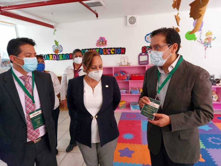 Estancias infantiles del ISSSTE listas para el regreso a clases: Ramírez Pineda