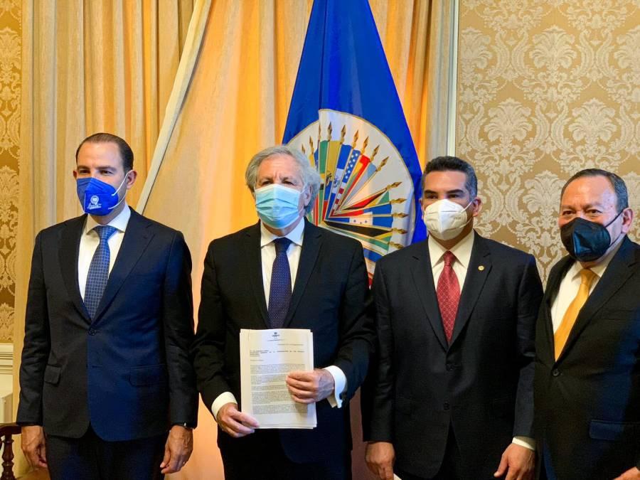 """""""Va por México"""" denuncia ante la OEA intromisión del crimen organizado en elecciones"""