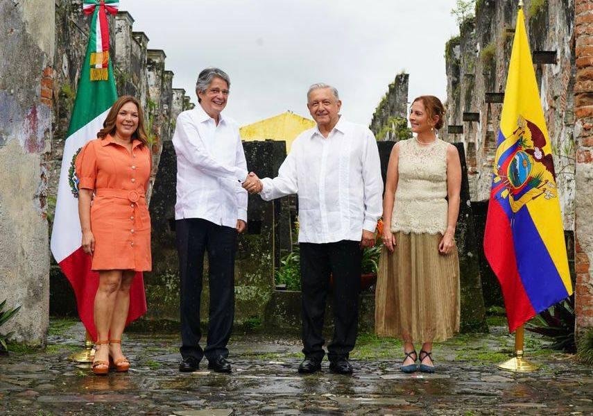 AMLO y Lasso acuerda acelerar proceso para suprimir visas a ecuatorianos