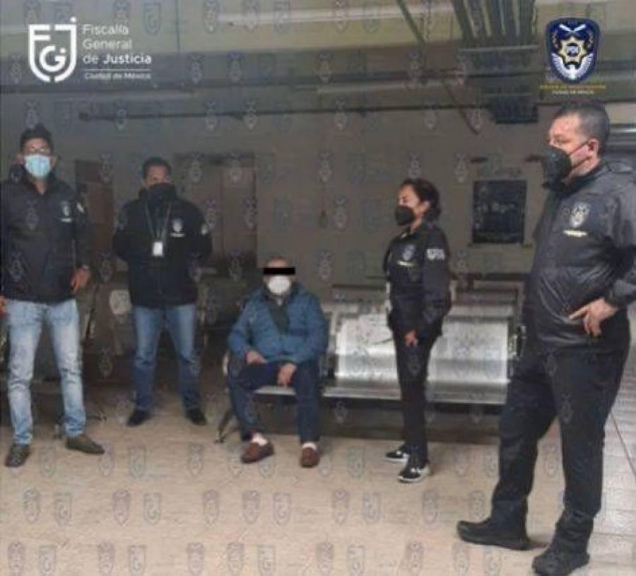 FGJ-CDMX cumplimenta segunda orden de aprehensión contra Saúl Huerta