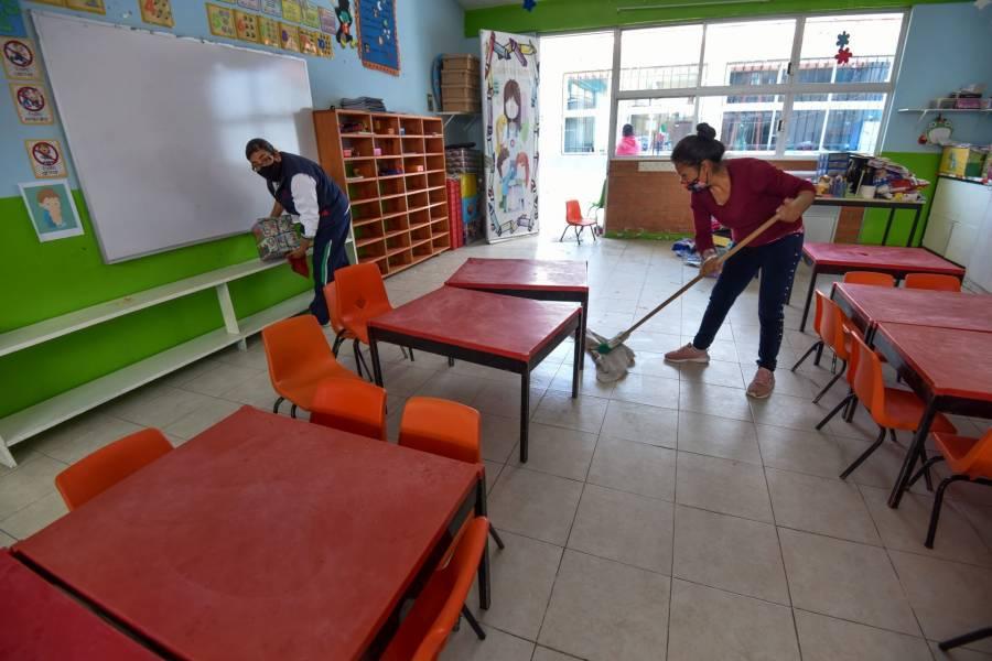 GobCDMX alista escuelas para el regreso a clases presenciales