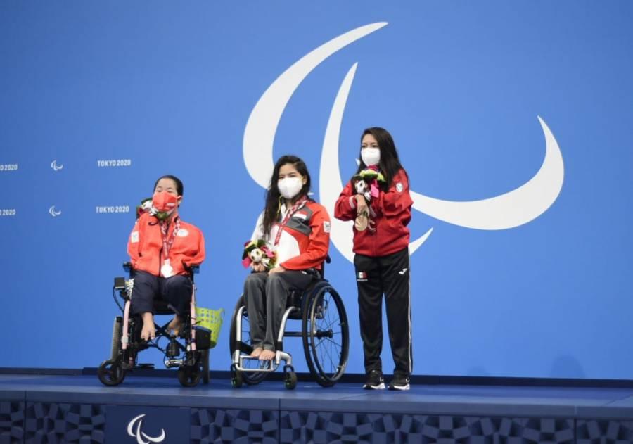 Ella es Fabiola Ramírez, medalla de bronce en los Juegos Paralímpicos de Tokio 2020