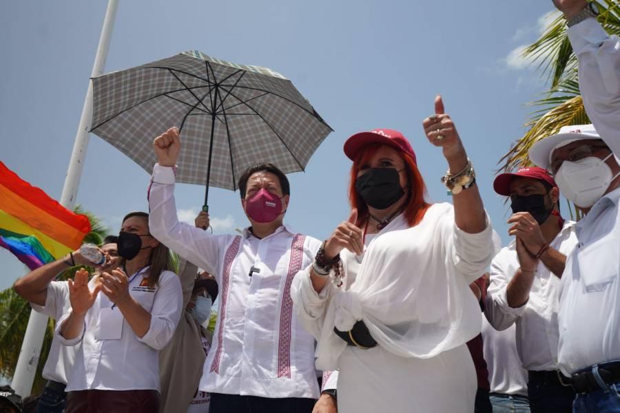 Morena va por ratificación del triunfo de Layda Sansores en Campeche