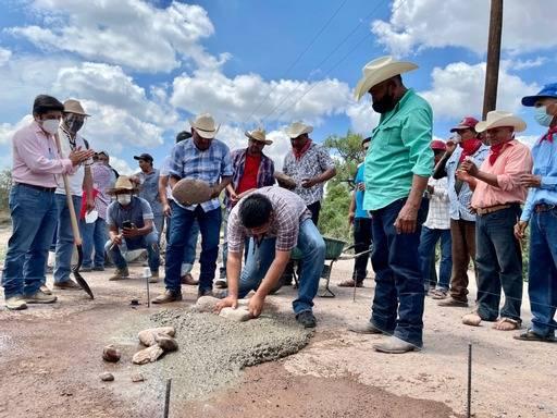 Se inicia en Sonora pavimentación de 5.1 km de camino rural