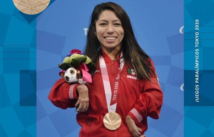 Juegos Paralímpicos: Fabiola Ramírez gana primera medalla para México
