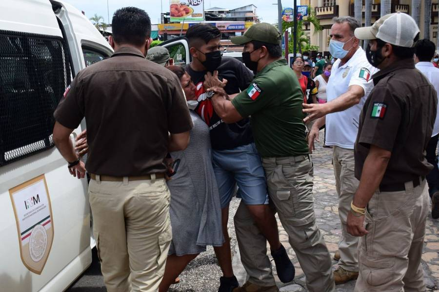 Aseguran a 146 migrantes, 50 de ellos menores, en Coahuila