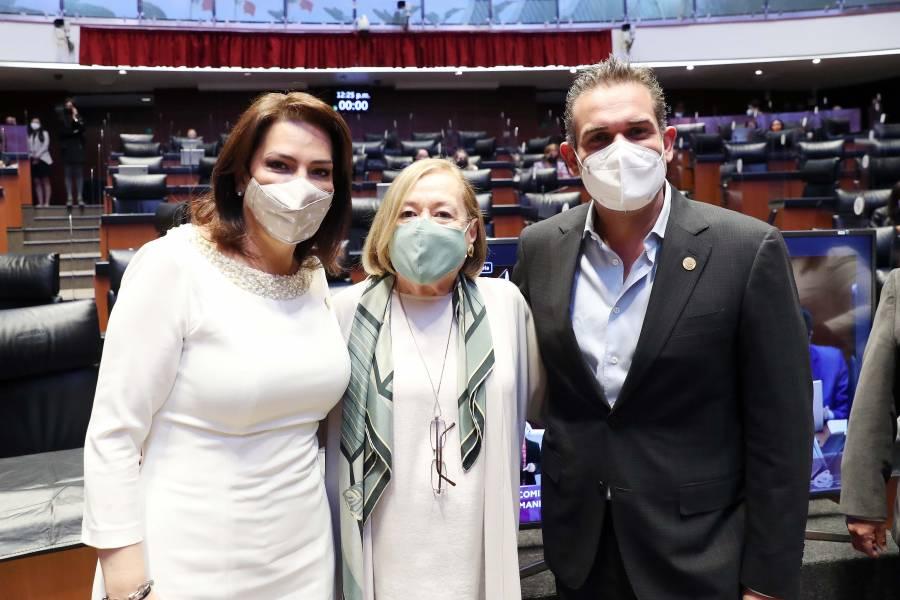 Ratifican a Lilia Eugenia Rossbach como embajadora en Argentina