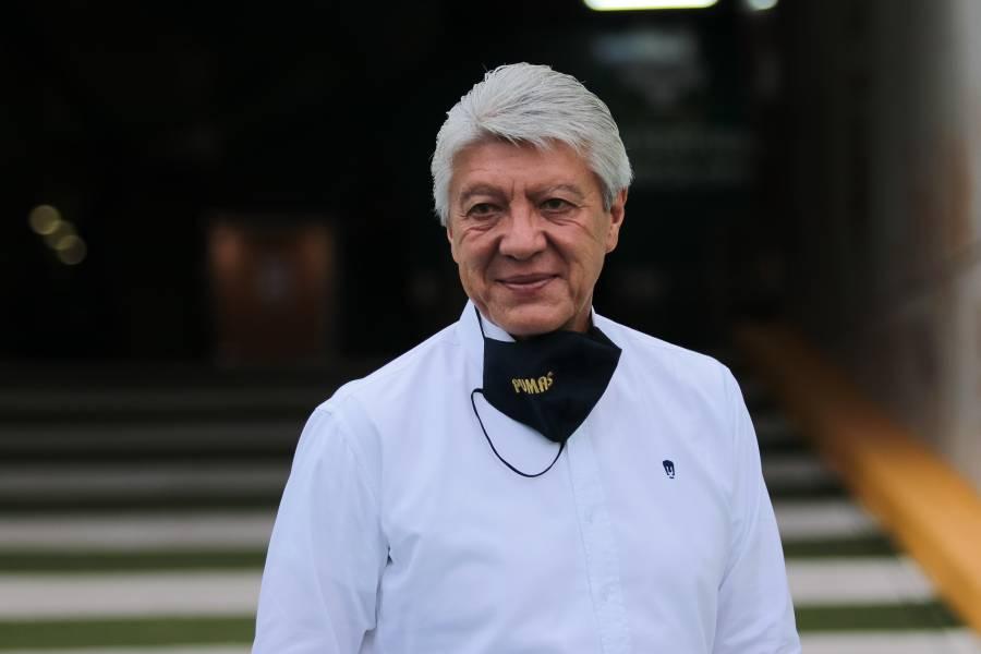 Jesús Ramírez renuncia como presidente deportivo de Pumas