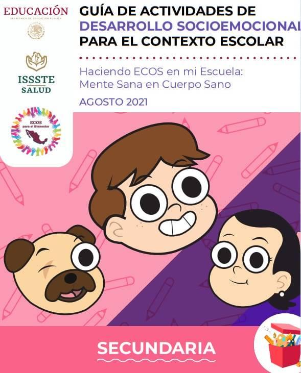 Guía de Actividades de Desarrollo Socioemocional para el Contexto Escolar (Secundaria)