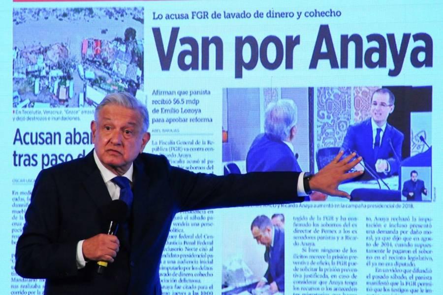 Maestros de Ricardo Anaya fueron Salinas de Gortari y Fernández de Cevallos, asegura AMLO