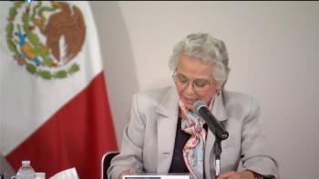 Olga Sánchez Cordero renuncia a Gobernación y regresa al Senado