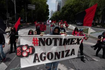Ordena Tribunal a Notimex reinstalar a trabajadores en huelga