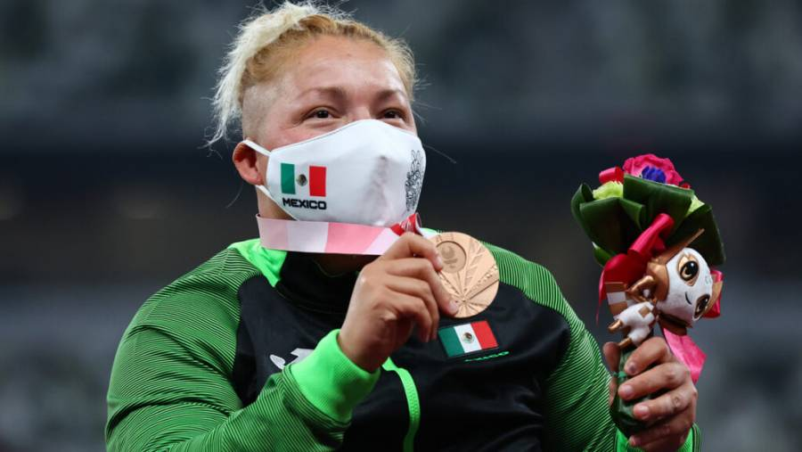 Tokio 2020 | La mexicana Rosa María Guerrero gana bronce en lanzamiento de disco