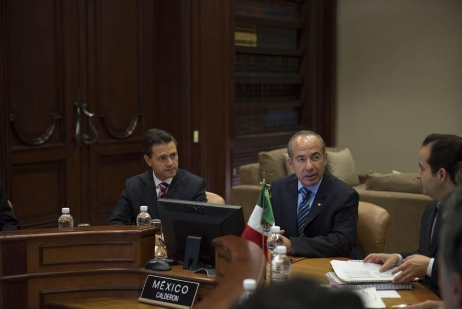 UIF alista información contra Peña Nieto y Calderón por presunto pago de sobornos