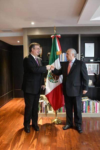 Marcelo Ebrard estará a cargo del Consejo de Diplomacia Turística