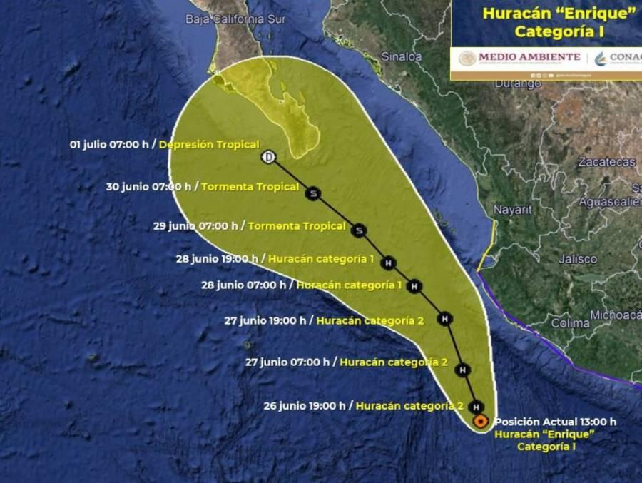 Tormenta tropical Nora se convertirá en huracán categoría 1