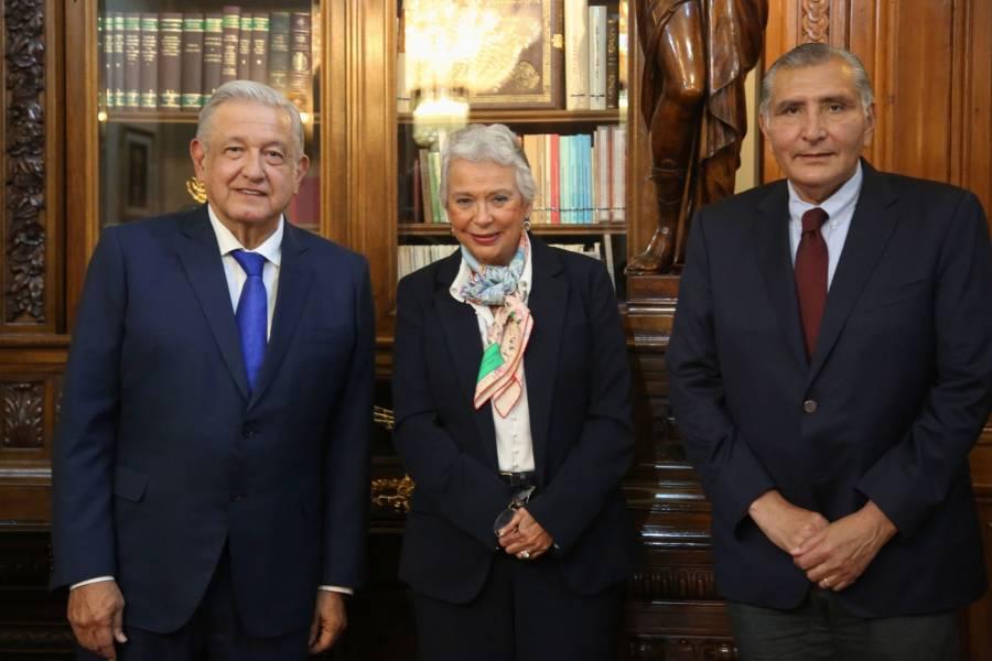 Adán Augusto López llega a Segob; Sánchez Cordero regresa al Senado