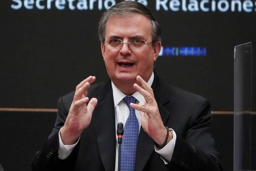 """México insiste en su plan de decir """"adiós"""" a la OEA: Marcelo Ebrard"""