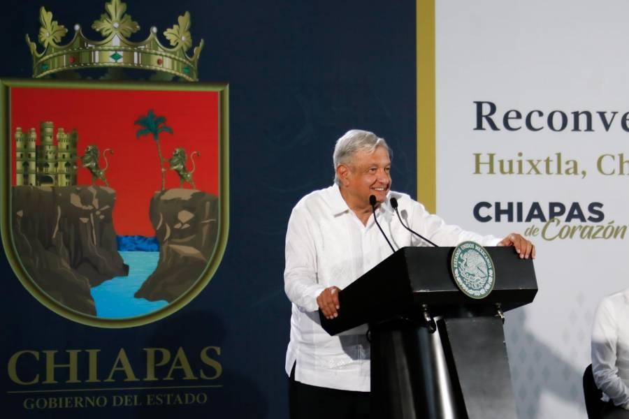López Obrador inaugura la reconversión de Hospital General de Huixtla en Chiapas