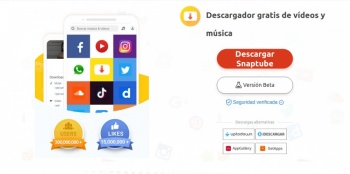 Snaptube, el convertidor y descargador de vídeo de Instagram