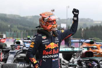 Checo Pérez arrancará séptimo en el GP de Bélgica; Verstappen logra la pole