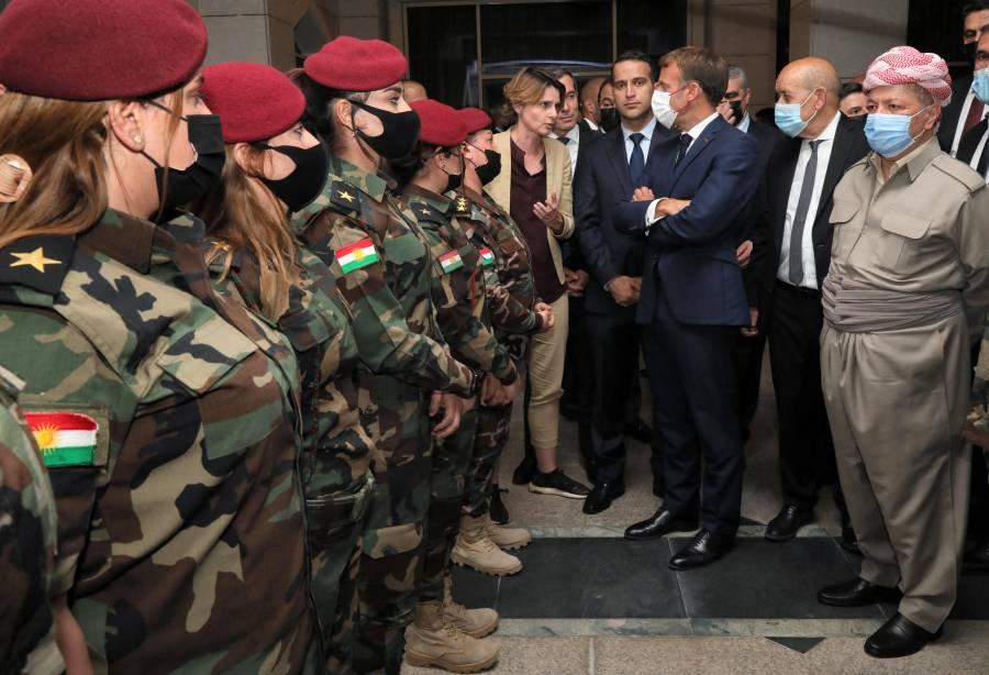 Conversar sobre evacuaciones con los talibanes no es reconocerlos, dice Emmanuel Macron