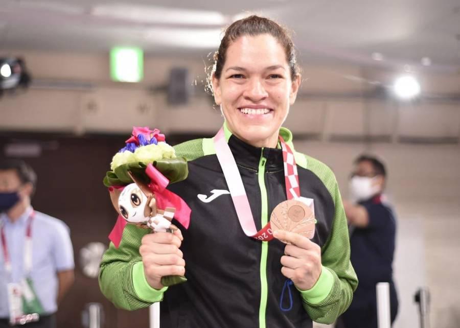 Juegos Paralímpicos: Lenia Ruvalcaba gana un bronce más para México