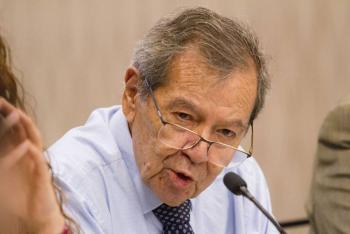 Porfirio Muñoz Ledo felicita al INE por resolución sobre revocación de mandato