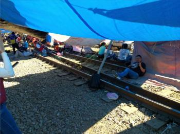 Concamin pide terminar con bloqueos de vías de tren en Michoacán