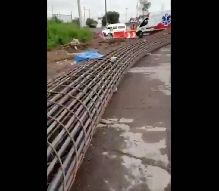 Desplome de grúa cobra la vida de cinco trabajadores en Ecatepec