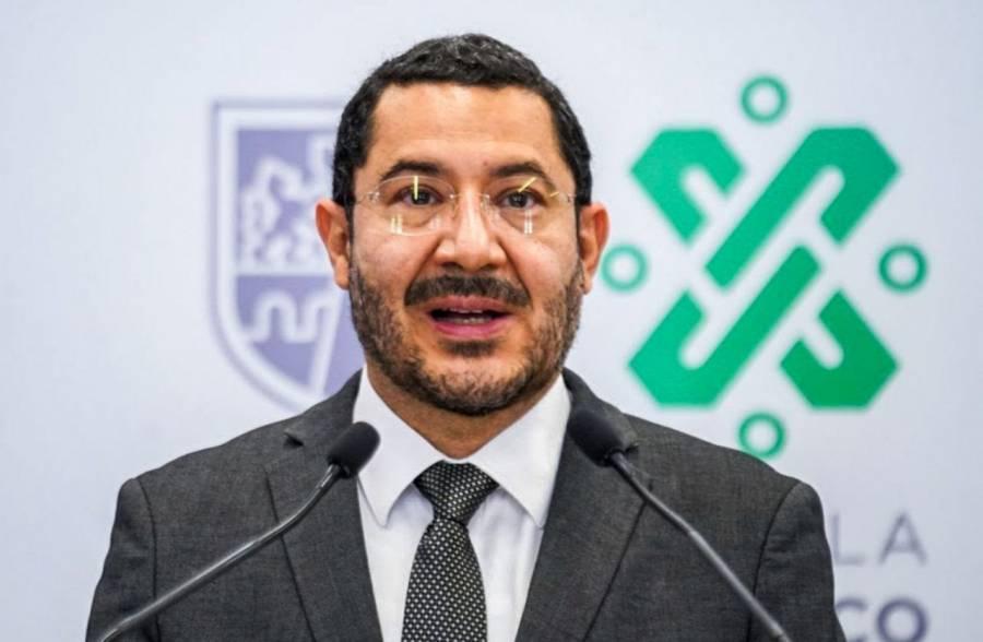 Martí Batres afirma que Gobierno de la CDMX no ordenó agresión contra alcaldes electos
