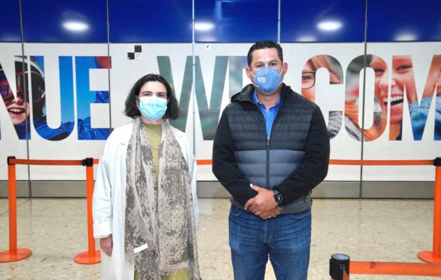 Diego Sinhue, gobernador de Guanajuato, arranca gira por Europa